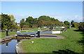 SJ6541 : Audlem Locks No 2 by Coxbank in Cheshire by Roger  Kidd