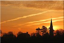 SK8770 : Harby sunrise by Richard Croft