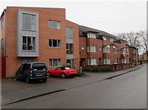 SO5140 : Modern housing in Coningsby Street Hereford by Jaggery