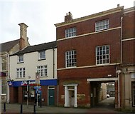 SK7519 : 11 and 15 High Street, Melton Mowbray by Alan Murray-Rust