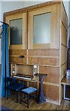 SK7645 : Organ, St Peter's church, Sibthorpe by Julian P Guffogg