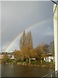 SX9291 : Rainbow over the River Exe by David Smith