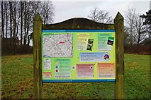 SP0575 : Information board at Forhill Picnic Place, Forhill, Worcs by P L Chadwick