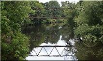 SE2320 : River Calder at Headfield by Bobby Clegg