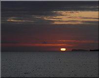 SM8513 : St Bride's Bay sunset by Robert Eva