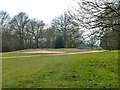 TQ4892 : Bunkers,  Hainault Forest Golf Club by Robin Webster