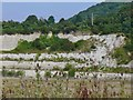 SP7500 : Chinnor - Disused Chalk Pit by Colin Smith