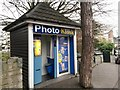 SZ0891 : Bournemouth: photo kiosk in Avenue Road by Chris Downer