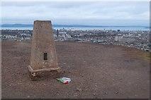NT2674 : Trig point on Calton Hill, Edinburgh by Jim Barton
