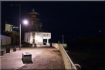 NJ9505 : Former Aberdeen Port Control at Footdee by Mike Pennington