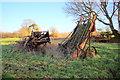 ST4704 : Old Farm Machinery by Nigel Mykura