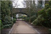 TQ2989 : Alexandra Park: path under former railway line by Christopher Hilton