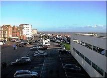 TQ7407 : De la Warr Pavilion car park and Marina by Patrick Roper