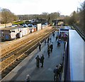 SJ9689 : Marple Station by Gerald England