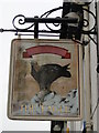 TM5492 : Hanging sign for 'The Eagle Tavern', Lowestoft by Adrian S Pye