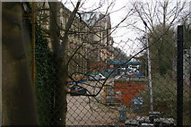 TQ2990 : Site of former Alexandra Palace station by Christopher Hilton