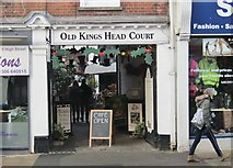 TQ1649 : Dorking - Old Kings Head Court by Colin Smith