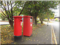 SE3132 : Postboxes on Goodman Street, Leeds by Stephen Craven