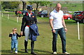 ST8083 : Zara, Mike & Mia Tindell, Badminton Horse Trials, Gloucestershire 2016 by Ray Bird