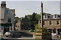 NT5433 : Mercat or Market Cross, Melrose by Jo Turner