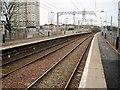 NS7164 : Kirkwood railway station, Lanarkshire by Nigel Thompson