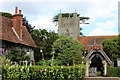 SU7886 : St Mary's church Hambleden by Robert Eva