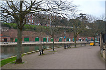 SX9192 : Exeter : Riverside Path by Lewis Clarke