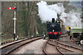 SX7863 : Staverton Station - autotrain to the siding by Chris Allen