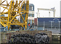 J3475 : Floating crane, Belfast by Rossographer