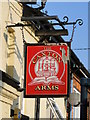 TM4290 : The hanging sign of 'The Caxton Arms' by Adrian S Pye