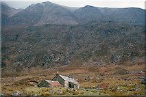 NH0680 : Shenavall Bothy in 1964 by Julian Paren
