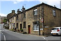 SE0344 : Houses on Barrows Lane at Chapel Road junction by Roger Templeman