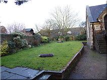 TQ0044 : Holy Trinity, Bramley: churchyard (2) by Basher Eyre