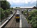 NS4757 : Neilston Station by Richard Webb