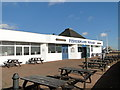TM5492 : 'Fishermans Wharf' on Lowestoft's South Pier by Adrian S Pye