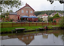 SK1705 : The Red Lion at Hopwas in Staffordshire by Roger  Kidd