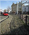 SX9472 : Paving, The Triangle, Teignmouth by Derek Harper