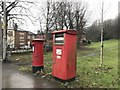 SJ8546 : Newcastle-under-Lyme: postboxes on King Street by Jonathan Hutchins