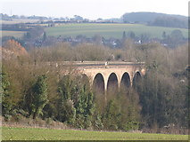 TQ5365 : Eynsford Viaduct from The Darent Valley Path by Marathon