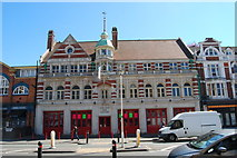 SZ0991 : The Old Fire Station by Barry Shimmon