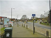 SP2778 : Tile Hill, road junction by Mike Faherty