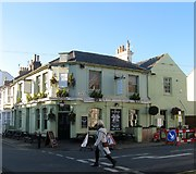 TQ2804 : The Foragers, Stirling Place, Hove by Simon Carey