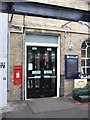 TL2371 : George VI postbox, Huntingdon Railway Station by JThomas