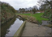 SK5802 : Saffron Brook at Aylestone Park, Leicester by Mat Fascione