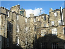 NT2574 : Edinburgh tenements - rear view by M J Richardson