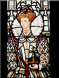 SD8913 : Stained Glass Window, Queen Elizabeth I by David Dixon