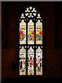 SD8913 : The Tudors' Stained Glass Window, Rochdale Town Hall by David Dixon