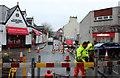 NX0660 : Road Works, Stranraer by Billy McCrorie
