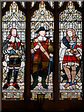 SD8913 : Lord Protector and Two Kings, Rochdale Town Hall by David Dixon