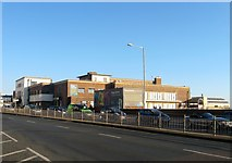 TQ2804 : King Alfred Leisure Centre, Kingsway, Hove by Simon Carey
